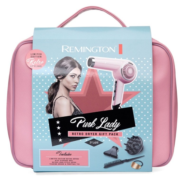 Remington Pink Lady Retro Dyer Pack- D4110OP