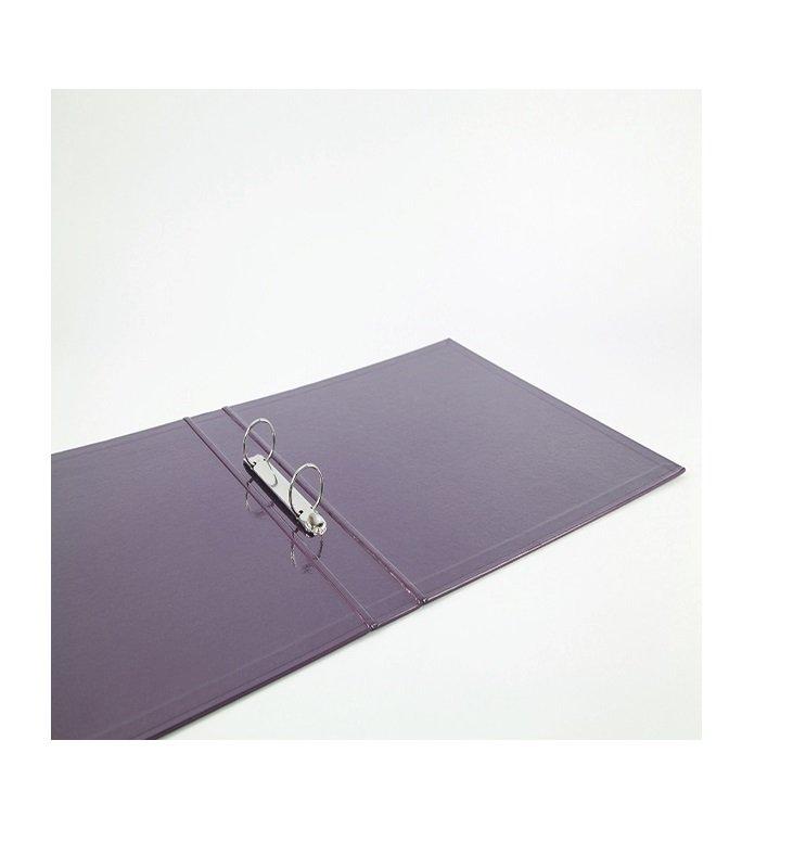 Elba Classy A4 Plus 25mm Metallic Purple Ring Binder - 400017758