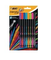 Bic Intensity Fineliner Pens Assorted - 942075