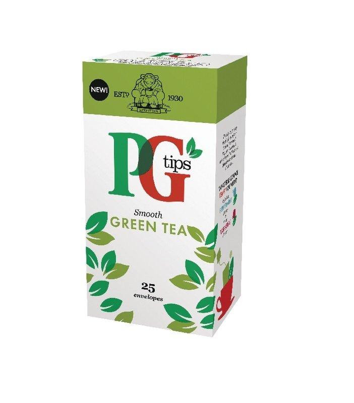 PG Tips Green Tea Envelope ( Pack of 25 ) 29013901