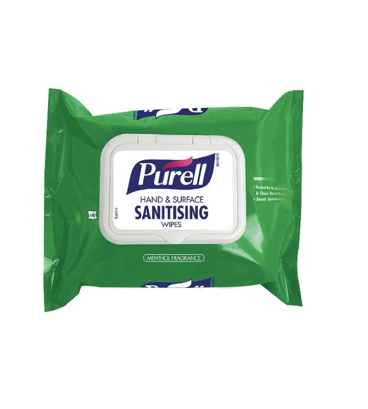 Purell Hand and Surface Wipes ( Pack Of 40 ) 92002-40-EEU