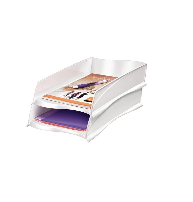 Image of CEP Ellypse Xtra Strong White Letter Tray 1003000021