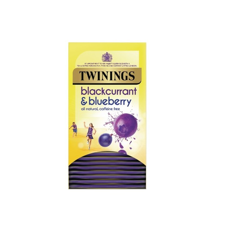 Twinings Blackcurrant and Blueberry (Pack of 20) F14393