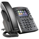 Polycom Vvx 410 12-line Desktop Phone Gigabit Ethernet With HD Voice. Poe