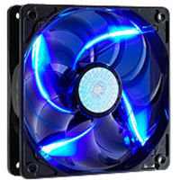 Cooler Master SickleFlow 120 Blue LED Fan - 120mm, 2000RPM