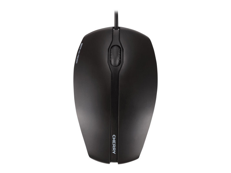 CHERRY GENTIX - Mouse - right and left-handed - optical - 3 buttons - wired - USB - Black