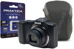 Kodak PIXPRO FZ152 Black Camera Kit inc 16GB SD Card and Case