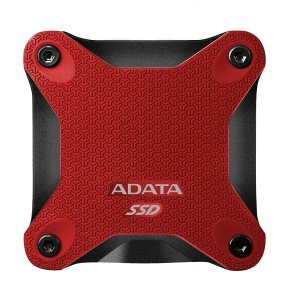 Adata SD600 512GB External Red SSD