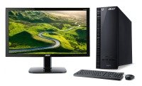 "Acer Aspire XC-704 Desktop + 24"" Full HD Monitor"