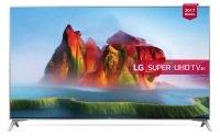 "EXDISPLAY LG 49SJ800V 49"" HDR Super UHD 4K Ultra HD LED Smart TV with Freeview Play & Harman / Kardon Soundbar Stand"