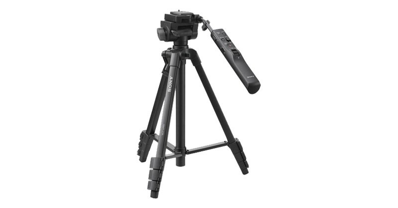 Sony VCT-VPR1 Aluminium Tripod inc Remote  Quick Shoe  Multi USB Cable