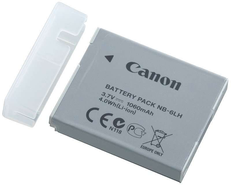 Canon NB-6LH Battery Pack for Powershot  SX260 SX270 SX280 SX540 D20 D30