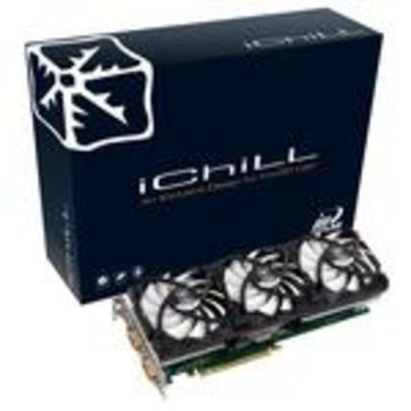 Inno3D GTX275 iChiLL Arctic Cooling Accelero XXX 896MB DDR3 Dual DVI Out PhysX and Cuda ready PCI-E Graphics Card With Free Terminator Salvation Game Download While Stocks Last