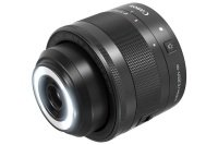Canon EF-M 28mm f/3.5 Macro IS STM Black Lens for EOS M