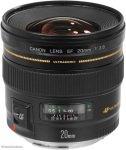 Canon EF 20mm f/2.8 USM Lens