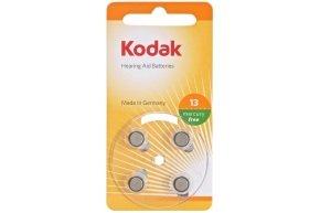 Kodak Hearing Aid Batteries Size P13 Orange - 4 Pack