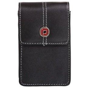 Proper Aura Black Leather Compact Digital Camera Case