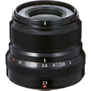 Fujifilm XF-23mm f/2.0 R WR Black