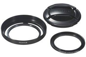 Fuji Lens Hood & Filter Kit for Finepix X30 - Black