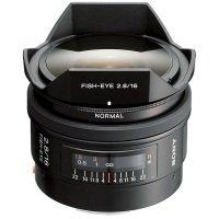 Sony SAL16F28 16mm f/2.8 Fisheye Lens A Mount for Alpha series