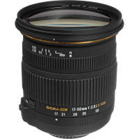 Sigma 17-50mm f/2.8 EX DC HSM Optical Stabilised Zoom Lens Canon Fit
