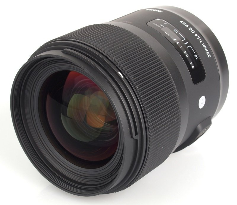 Sigma 35mm f/1.4 DG HSM Optical Stabilised Wide Angle Telephoto Lens Canon Fit