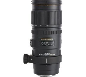 Sigma 70-200mm f/2.8 APO EX DG HSM Optical Stabilised Telephoto Lens Canon Fit