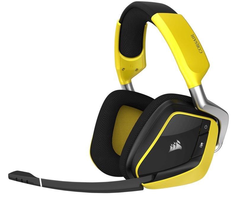 Corsair Gaming VOID Pro RGB Wireless SE - Black/Yellow