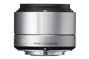 Sigma 19mm f/2.8 DN Wide Angle Lens Sony E Mount CSC - Silver