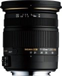 Sigma 17-50mm f/2.8 EX DC HSM Optical Stabilised Zoom Lens Sony Fit