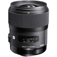 Sigma 35mm f/1.4 DG HSM Optical Stabilised Wide Angle Telephoto Lens Nikon Fit