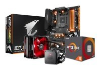 Gigabyte AX370-GAMING K5 Motherboard, AMD Ryzen 5 1600X Processor and Seidon Cooler Bundle