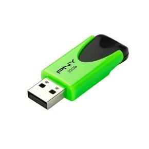 PNY N1 Attache 32GB - Green  - FD32GATT4NEOKGR-EF