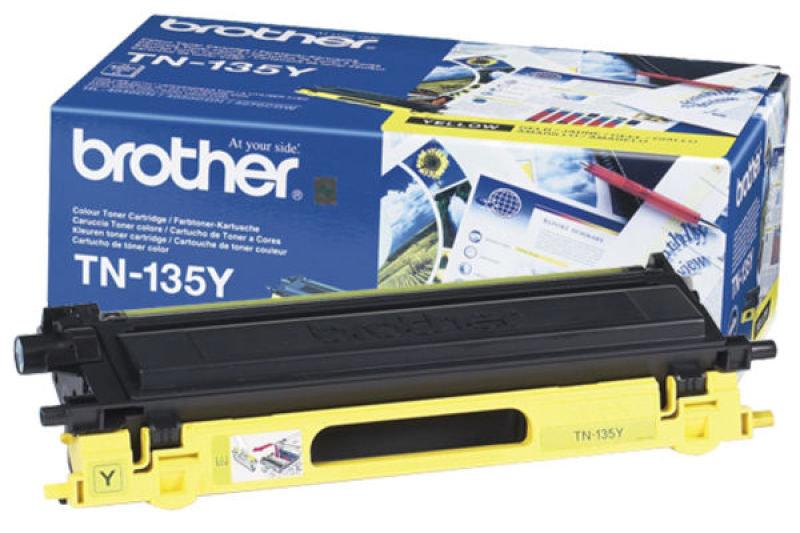 Brother Yellow Toner Cartridge High Capacity TN135Y