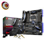 MSI Intel X299 GAMING PRO CARBON AC Gaming Motherboard