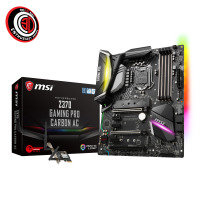 MSI Z370 GAMING PRO CARBON AC Socket LGA 1151 DDR4 ATX Motherboard