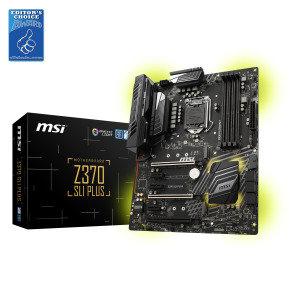 MSI Z370 SLI PLUS Socket LGA 1151 DDR4 ATX Motherboard...