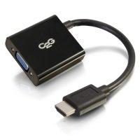 C2G HDMI to VGA Adapter Converter Dongle - video converter - Black