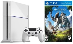 Sony PS4 500GB White with Horizon Zero Dawn