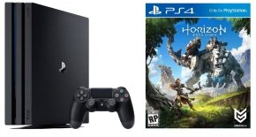 Sony 1TB PS4 PRO Black with Horizon Zero Dawn