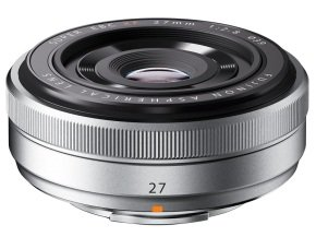 Fujifilm XF-27mm f/2.8 Lens - Silver