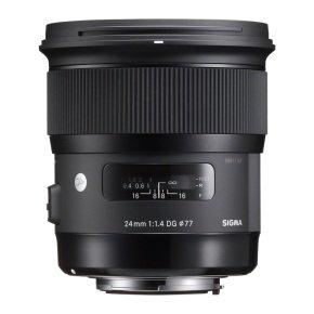 Sigma 24mm f/1.4 DG HSM Art lens Nikon Fit