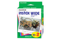 Fujifilm Instax Wide Picture Format Film Pack Of 10 Sheets X2