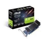 EXDISPLAY Asus Nvidia GeForce GT 1030 2GB Passive Low Profile Graphics Card