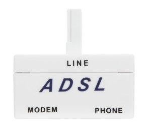RJ11 ADSL Splitter Filter