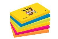 Post-it Super Sticky 76x127mm Rio Notes (Pack of 6)