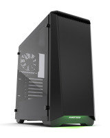 Phanteks Eclipse P400S Glass Midi Tower Case - Noise Dampened Black