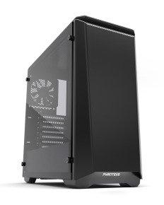 Phanteks Eclipse P400S Glass Midi Tower Case - Noise Dampened Black/White