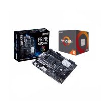 Asus AMD PRIME X370-PRO Motherboard and AMD Ryzen 5 1600 Processor Bundle