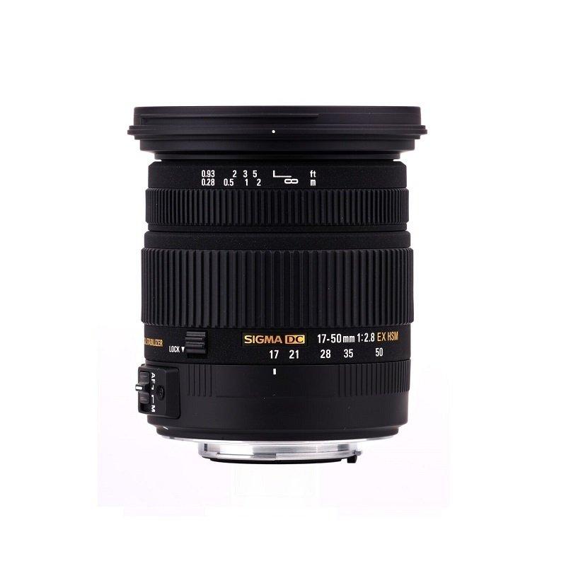 Sigma 17-50mm f/2.8 EX DC HSM Optical Stabilised Zoom Lens Nikon Fit